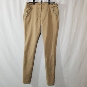Mackage collection tan pants with zipper pockets